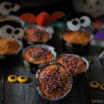 Muffin alla zucca con gocce di cioccolato fondente (ricetta vegana)