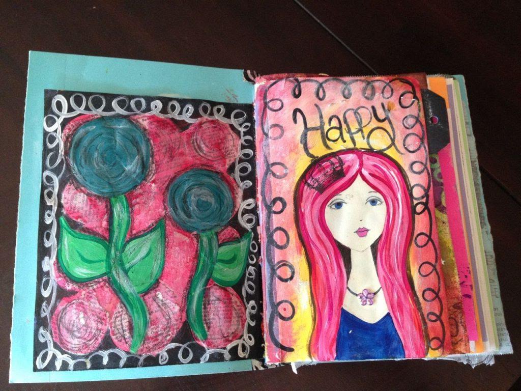 Il diario creativo: una strada per essere più felici
