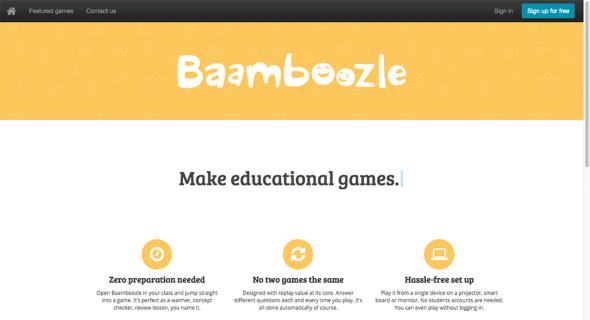 Creare giochi di quiz a squadre con Baamboozle