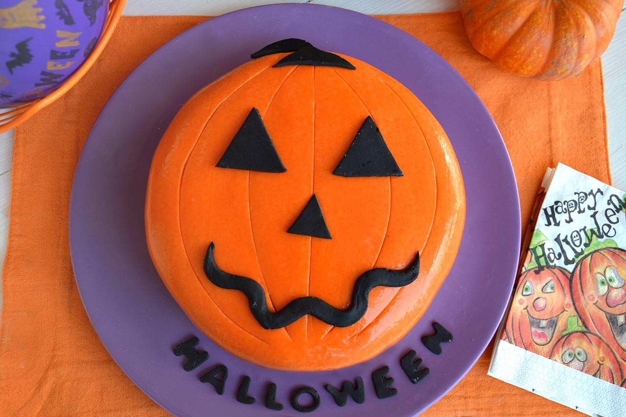 Zucca Di Halloween Paurose.Torta Zucca Di Halloween Italia4all Scuola