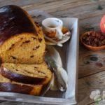 Pan brioche dolce alla zucca