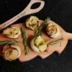 Rose di patate in pasta sfoglia