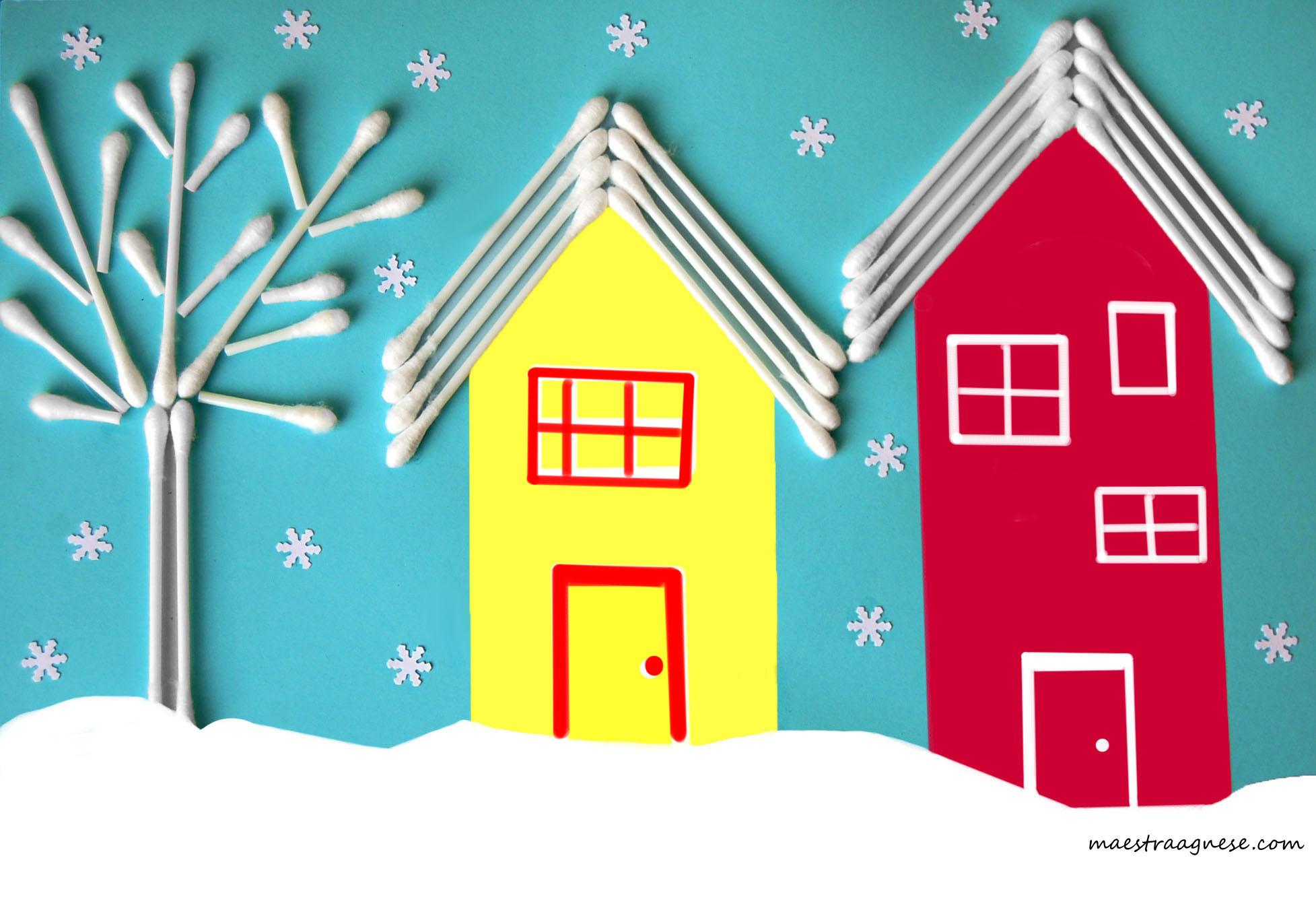 Lavoretti e addobbi per l 39 inverno italia4all scuola for Addobbi inverno scuola infanzia