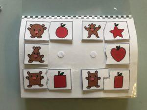 Quaderno mele, uccellini e numeri