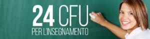 Percorso Formativo da 24 CFU: termine di presentazione delle domande