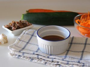 Bagna caoda al barbecue con wok in ghisa