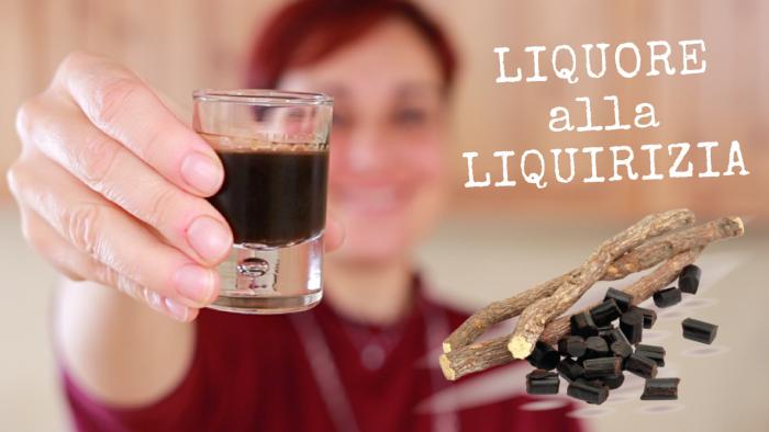 Liquore alla liquirizia ricetta facile