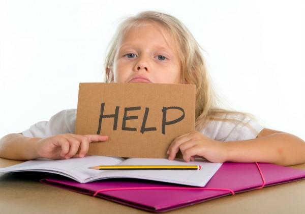 I genitori non devono aiutare con i compiti