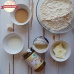 Pull apart bread con crema di pistacchio e yogurt alla stracciatella (senza uova)