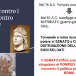Il Primo Triumvirato e la Guerra civile tra Cesare e Pompeo – Video lezione semplificata per alunni BES