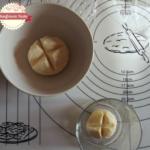 Ghirlanda di pane di farro e kamut per la tavola di Natale (passo-passo)