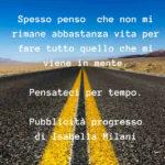 Riflessioni sulla brevità della vita. su Isabella Milani Online