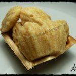 Mini madeleine dolci integrali al limone (senza uova e senza burro)