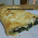 Torta Salata con Spinaci, Pancetta  e Formaggio