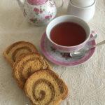 Fette biscottate bicolore con lievito madre