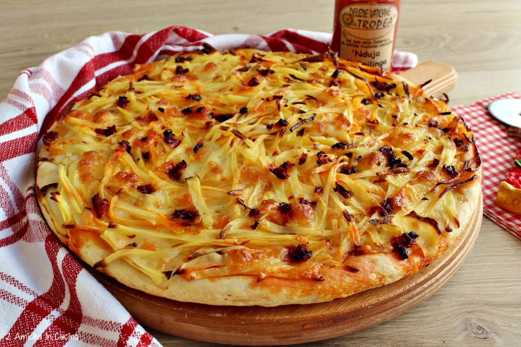 Pizza patate e 'nduja