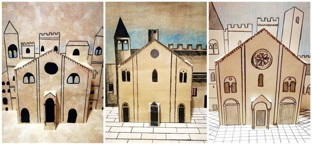Cattedrali Romaniche pop-up
