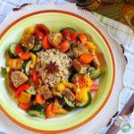 Tempeh in padella con verdure