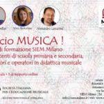 Faccio Musica! Corso di aggiornamento per docenti di scuola dell'infanzia, primaria e media