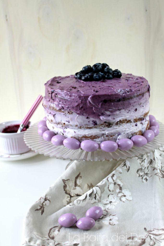 Layer Cake ai mirtilli