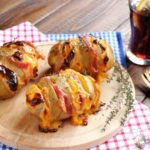 Patate con bacon e cheddar