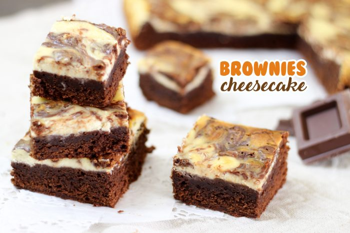BROWNIES CHEESECAKE – RICETTA FACILE