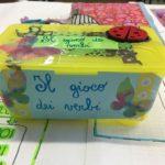 Il gioco dei verbi (con scatola)