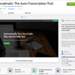 Vocalmatic: trascrizioni automatiche di audio in testi