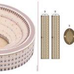 Costruire il Colosseo con la carta
