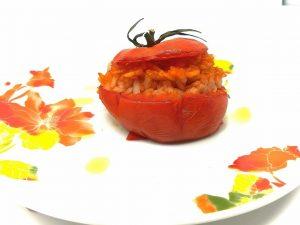 Pomodori ripieni di riso: la ricetta della gemistà