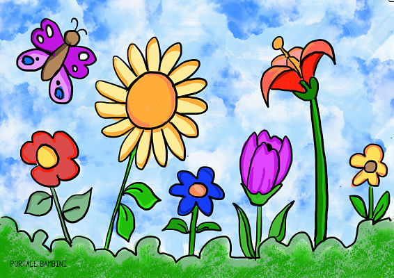 Disegni Di Primavera Da Colorare Italia4all Scuola