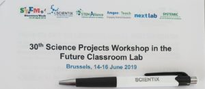 30th Science Projects Workshop, Bruxelles 14-16 giugno 2019